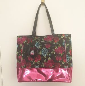 Betsey Johnson Floral Tote Bag